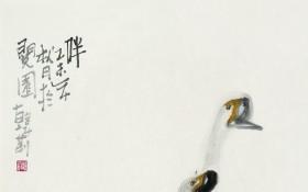 伴 68x46cm   水墨宣纸