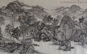 秦岭风韵烟华滋138x69