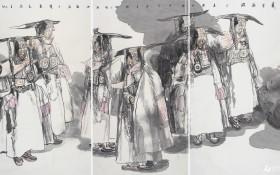 普兰花开(整体,2011年204cmX366cm