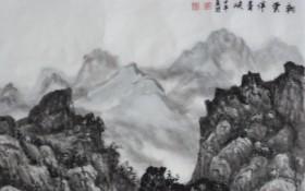 朝云伴青峡138x69