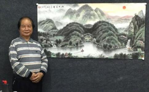 杨丹清:风水画是中国诗意的存在