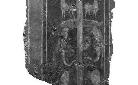 伦敦地下发现古罗马壁画