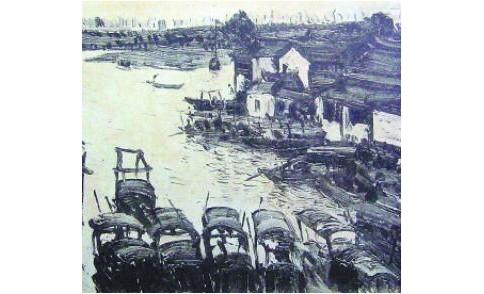 江南风景作品在中国近现代油画史的发展