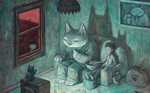 Shaun Tan 儿童科幻小说绘本插画集