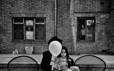 Masoud Gharaei街头摄影作品:伊朗