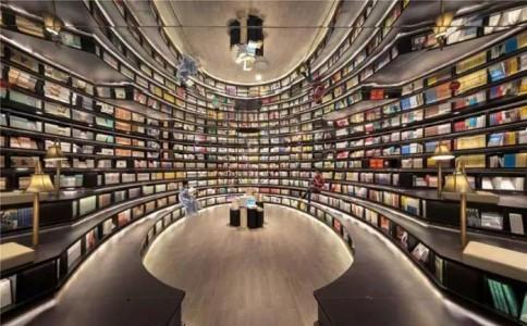 这家神奇的书店充满了光的幻想 | 建筑