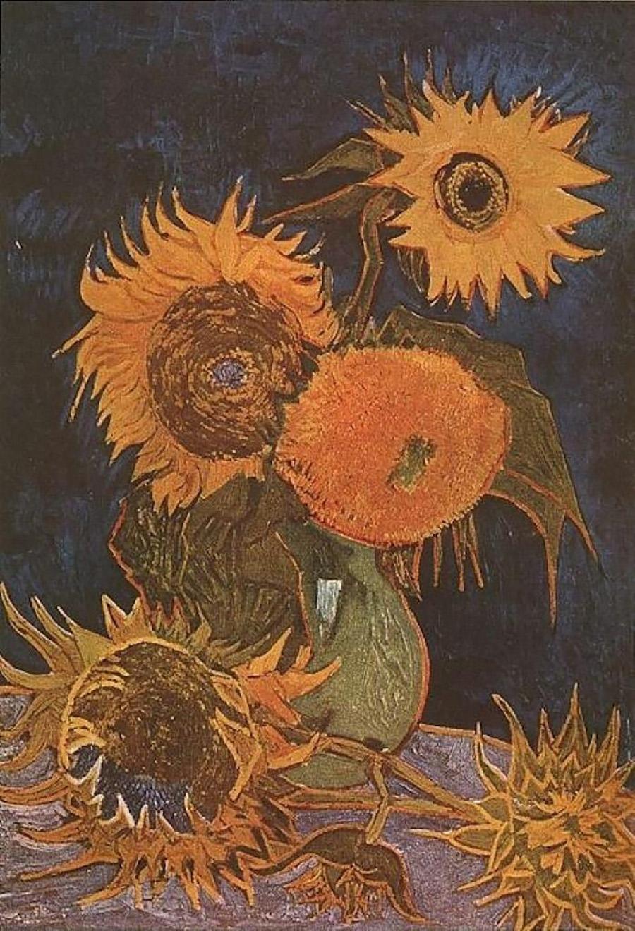 梵高的 向日葵 把柯南都搞懵了