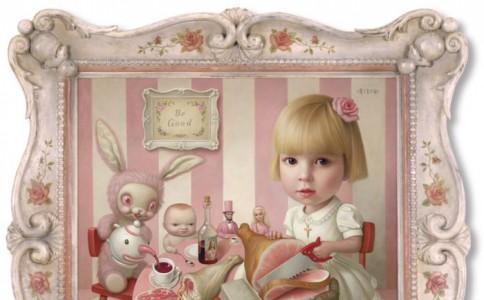 可爱又血腥的黑色童话:美国艺术家Mark Ryden
