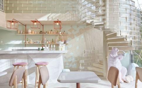 玫瑰色系的浪漫:曼谷甜点店 SHUGAA