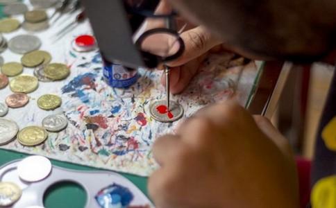 Andre Levy 硬币上的肖像艺术