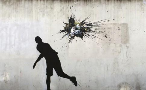 西班牙街头的幽默警示艺术家:Pejac