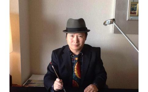 王少飞水墨画作品刷新华人世界纪录