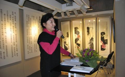 芣苡之春——程岱中国画作品展将于3月8日开展