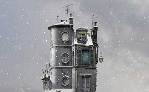 Flying Houses(Laurent Chéhère作品)