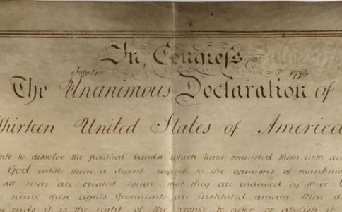 英国哈佛教授发现第二份《美国独立宣言》手稿