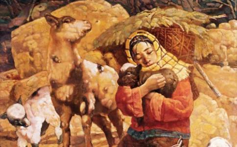 """赏析:艺术中的""""羊"""""""