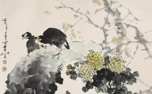 高冠华谈艺录:花鸟画的构图、临摹、笔墨