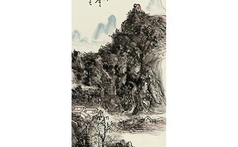 澄怀古道 浑厚华滋——黄宾虹《浈阳峡》赏析