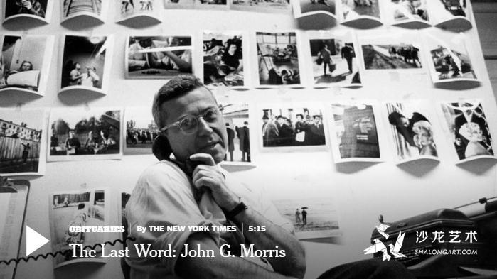 约翰·莫里斯 最伟大的图片编辑去世 享年100岁
