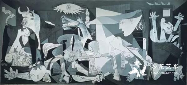 毕加索,格尔尼卡,1937年