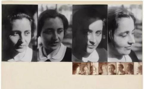 约瑟夫·阿尔博斯的包豪斯照片拼贴