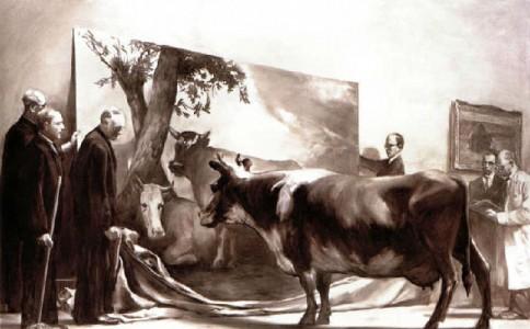 """互文性理论中""""独创性""""的呈现——以马克·坦西的两幅作品为例"""