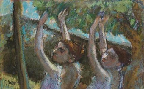 这位画芭蕾舞女的画家说:绘画就像犯罪