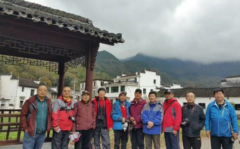 沙龙头条 | 沙龙艺术摄影俱乐部宏村、黄山采风行(第七日)