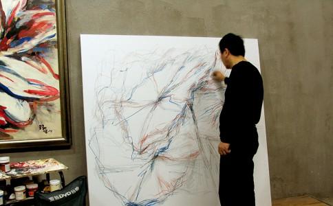 沙龙头条 | 艺术家焦野入驻沙龙掌拍APP,精美画作店铺内均有销售