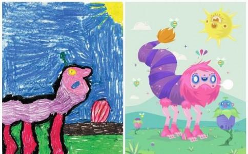 小孩子的怪兽和艺术家的怪兽