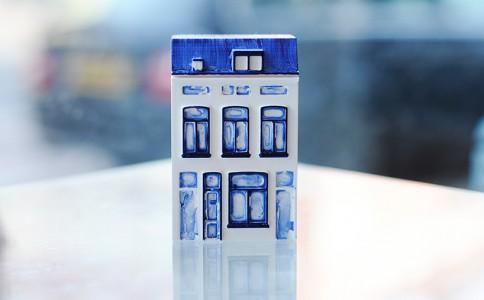 3D打印机打印出来的代尔夫特房屋