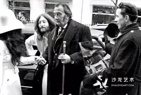 小野洋子、列侬和达利