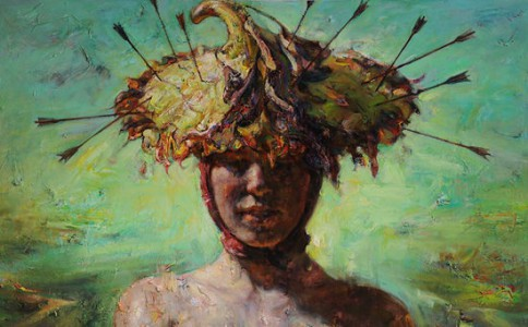 光彩照人——王胜油画艺术的美学理想