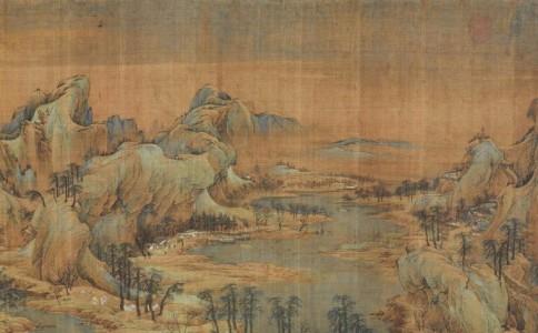 文徵明后期青绿山水的院体类型画风及其原因