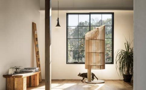 一款符合现代家居风格的猫咪窝 NEKO